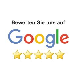 Bitte bewerten Sie uns auf Google mit 5 Sternen